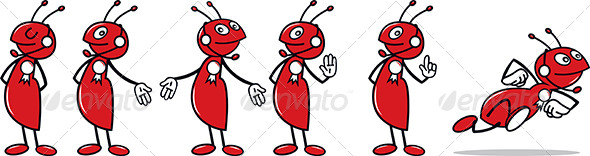 GraphicRiver Ant Mascot 4616806