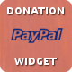 PayPal Donation Widget - CodeCanyon Item for Sale