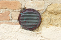 Wall with vent for safety - PhotoDune Item for Sale