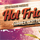Hot Friday Party Poster - GraphicRiver Item for Sale