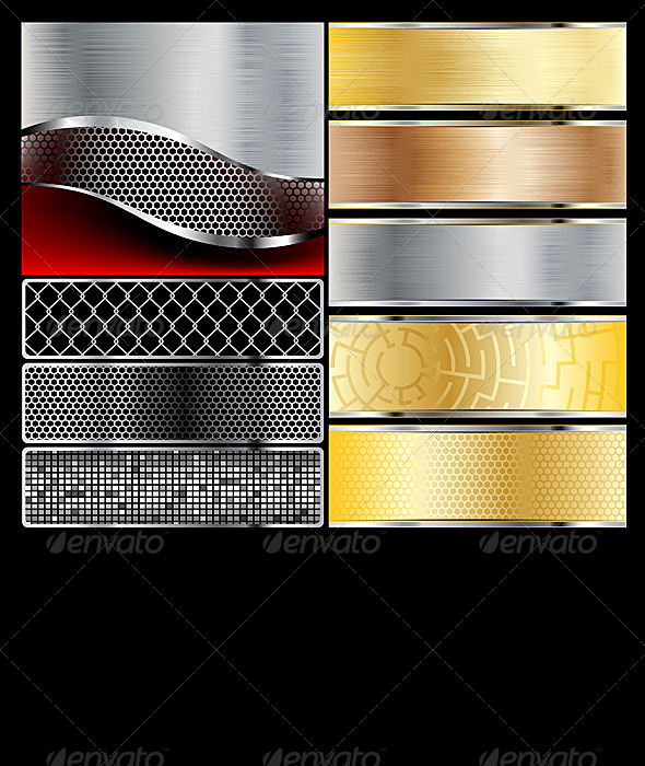 GraphicRiver Metal 4566929