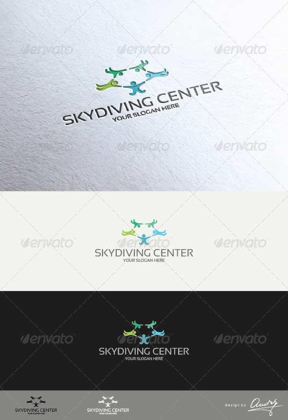 GraphicRiver Skydiving Center 4620128