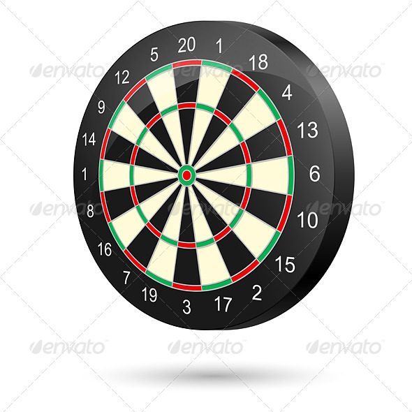 GraphicRiver Dartboard 4620329