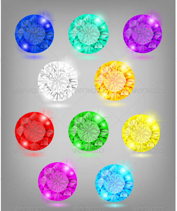 GraphicRiver Colorful Jewelry 4620444