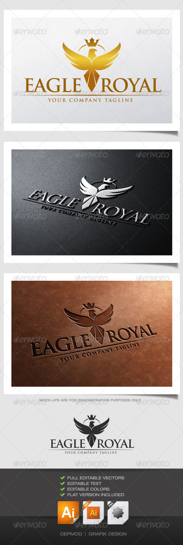 Eagle Royal Logo - Crests Logo Templates