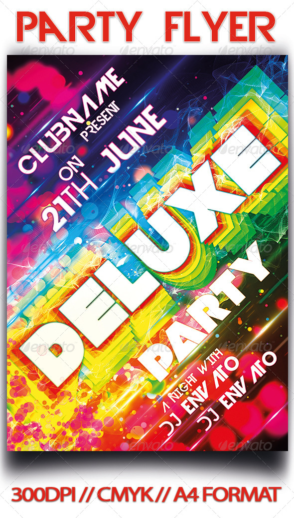 GraphicRiver Party Flyer 4549104