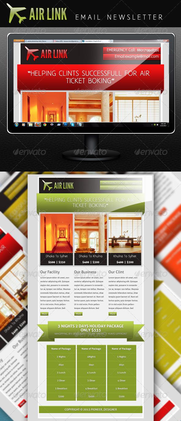 GraphicRiver Air Link 4595662