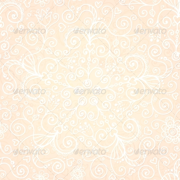 GraphicRiver Vector Doodles Vintage Ornate Seamless Pattern 4621203