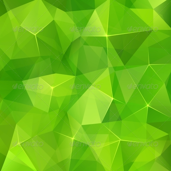 GraphicRiver Abstract triangles geometry vector background 4621285