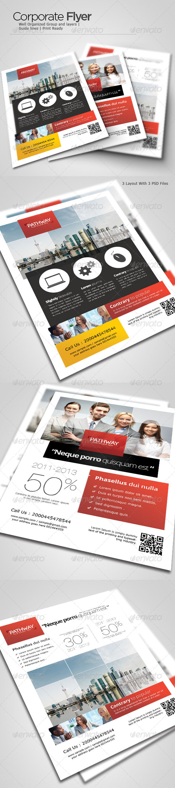 GraphicRiver Corporate Flyer 4621293