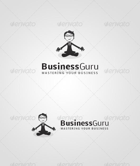 GraphicRiver BusinessGuru Logo 4532802