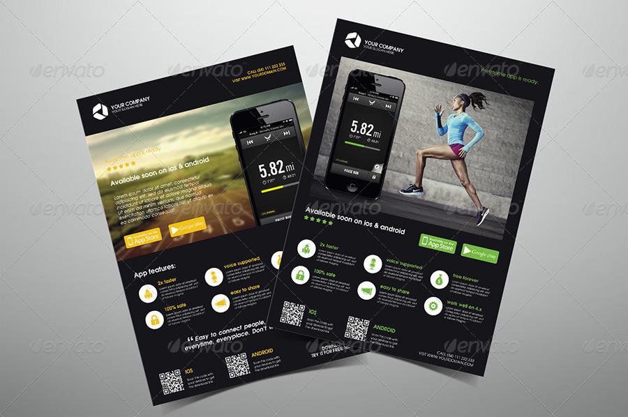 App Promotion Flyers Bundle