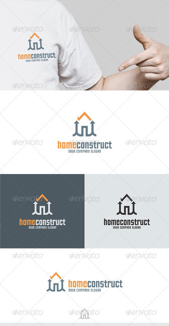 GraphicRiver Home Construct Logo 4621760