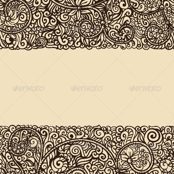 GraphicRiver Floral Vintage Background 4621969