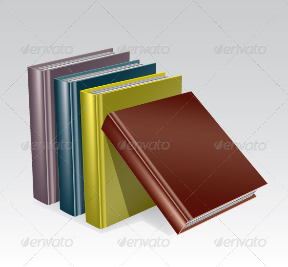 GraphicRiver Stack of Books 4622277