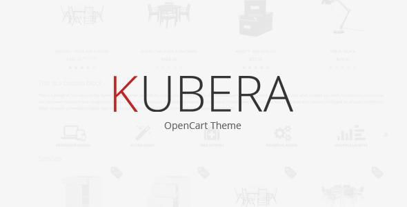 ThemeForest KUBERA Premium OpenCart Theme 4622480