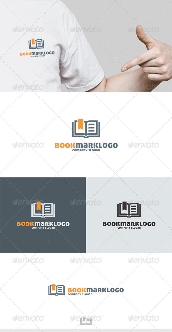 GraphicRiver Book Mark Logo 4622486