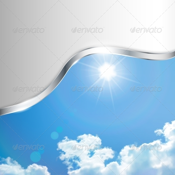 GraphicRiver Abstract Background with Sky 4622506