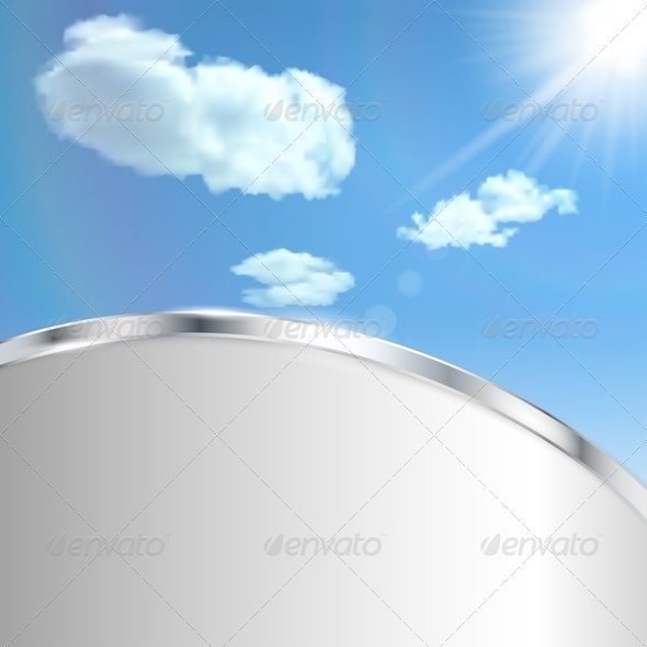 Abstract Background with Sky - Backgrounds Decorative