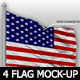 04 Flag Mock-up - GraphicRiver Item for Sale