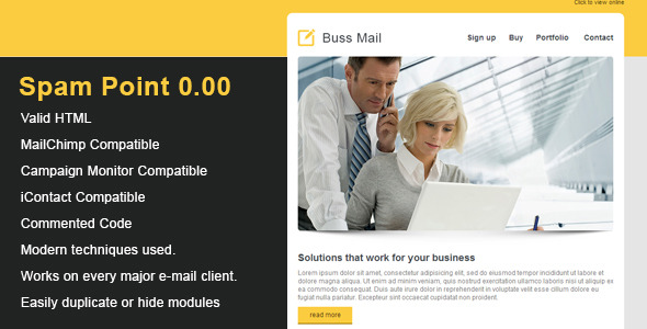 Buss Clean Email Template