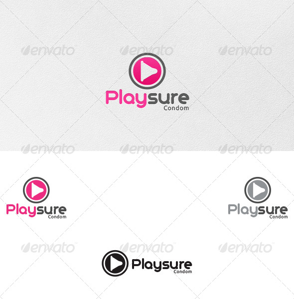 GraphicRiver Pleasure Playsure Logo Template 4622599