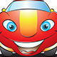 Happy Car Mascot - GraphicRiver Item for Sale
