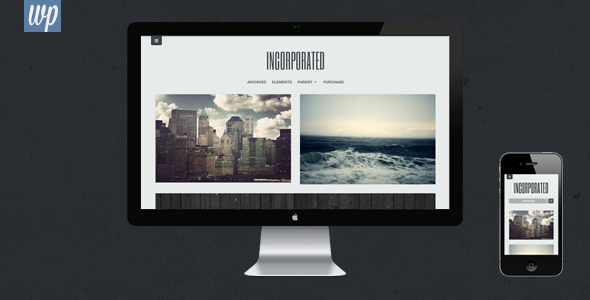 ThemeForest Incorporated WordPress Theme 4362472
