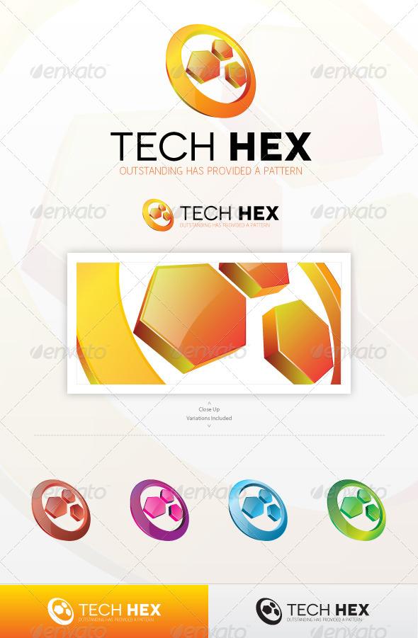 GraphicRiver Hexa Tech Logo 4367952