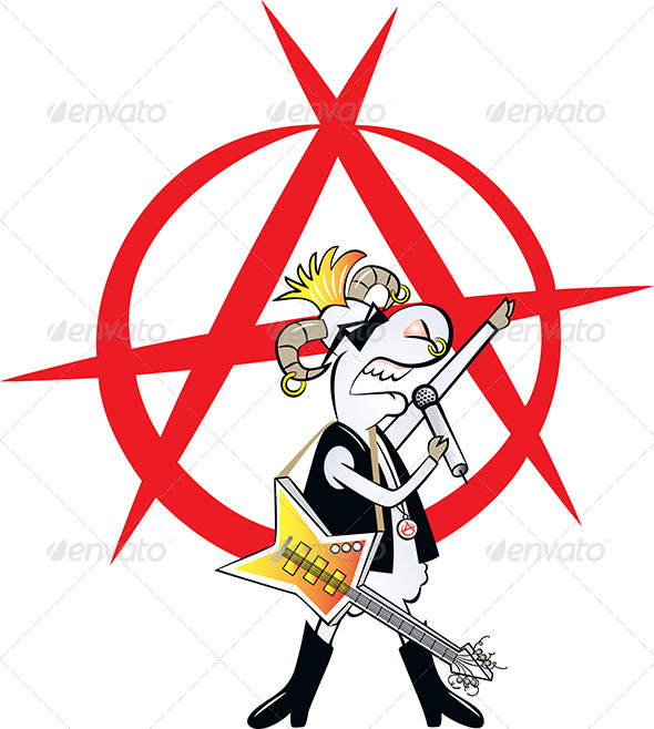 GraphicRiver Punk Rocker 4622975