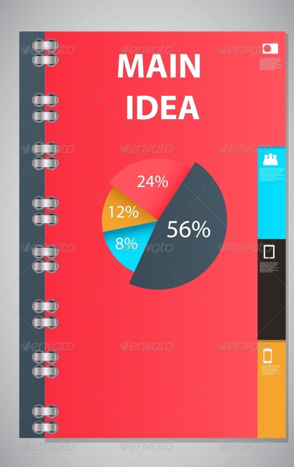 GraphicRiver Infographic Template Design Vector Illustration 4623067