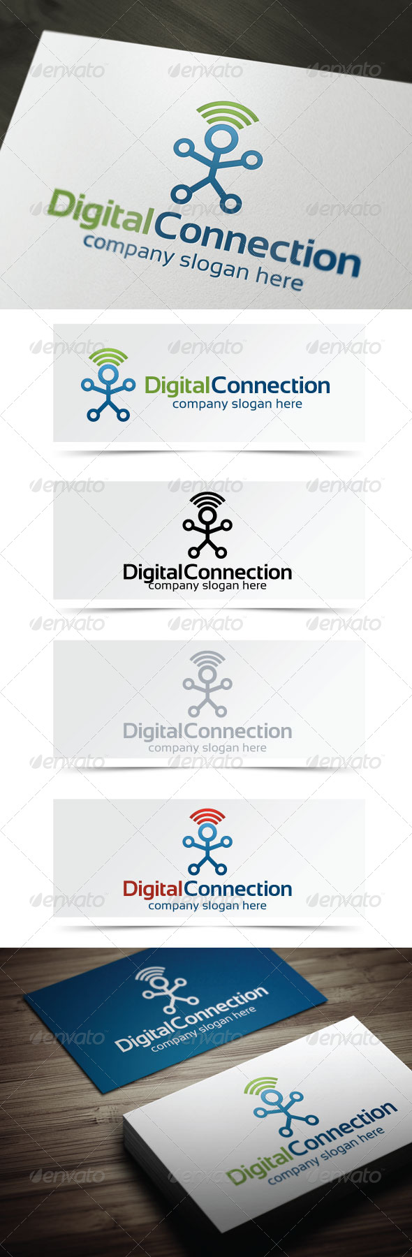 GraphicRiver Digital Connection 4623379