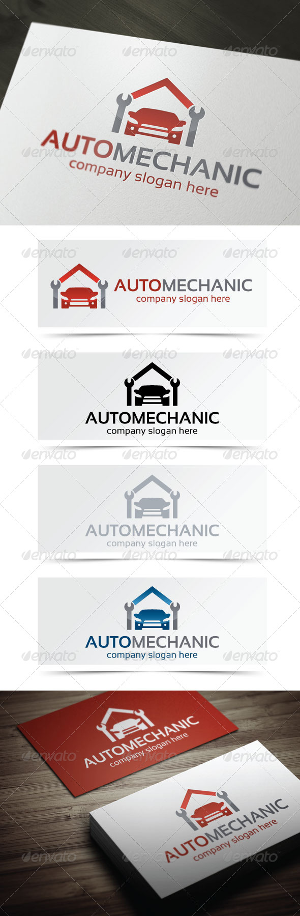 GraphicRiver Auto Mechanic 4623396