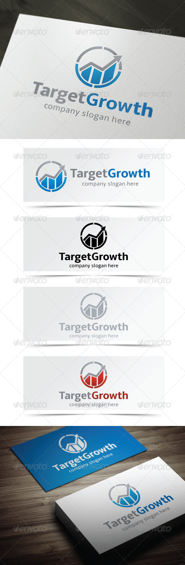 GraphicRiver Target Growth 4623401