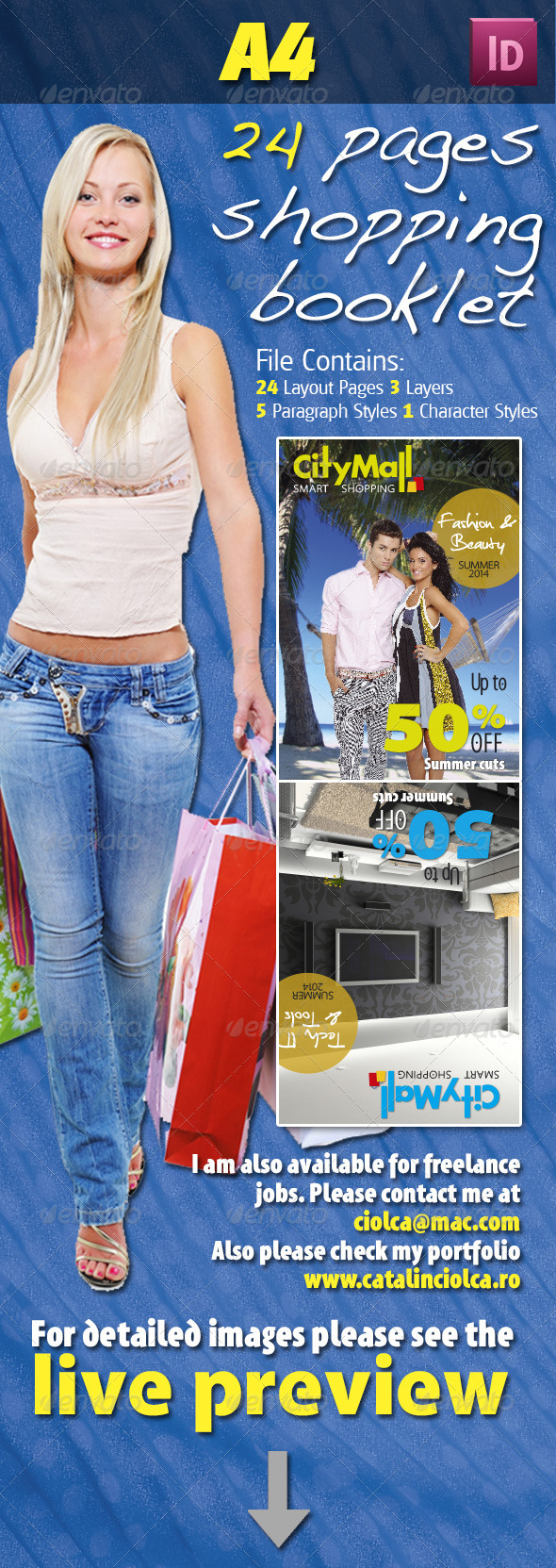 GraphicRiver 24 Pages Shopping Booklet 4623471