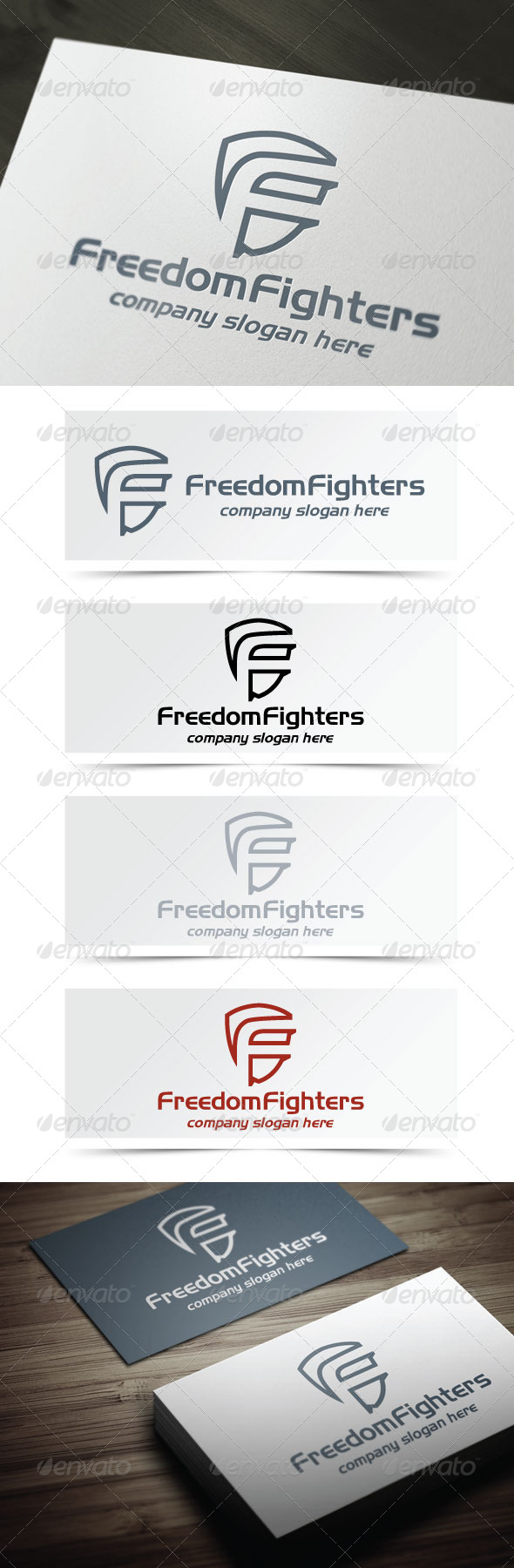GraphicRiver Freedom Fighters 4623563