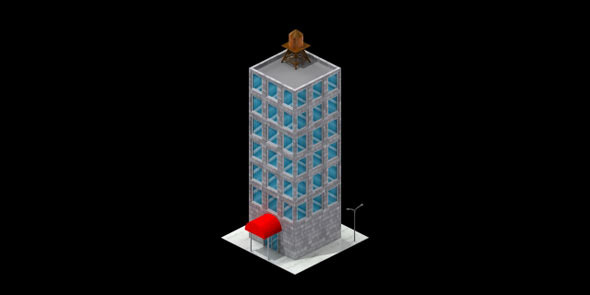 3DOcean Office Building 4623615