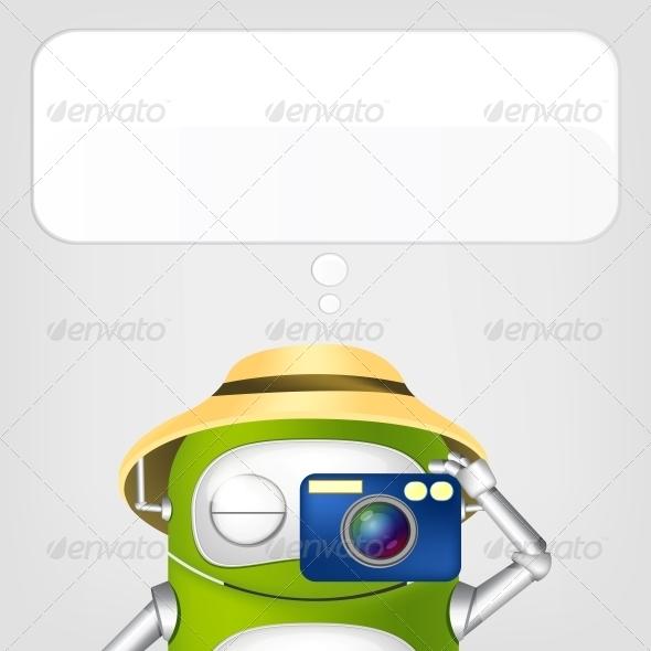 GraphicRiver Robot 4624044