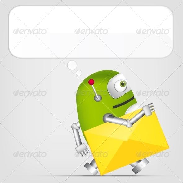 GraphicRiver Robot 4624045