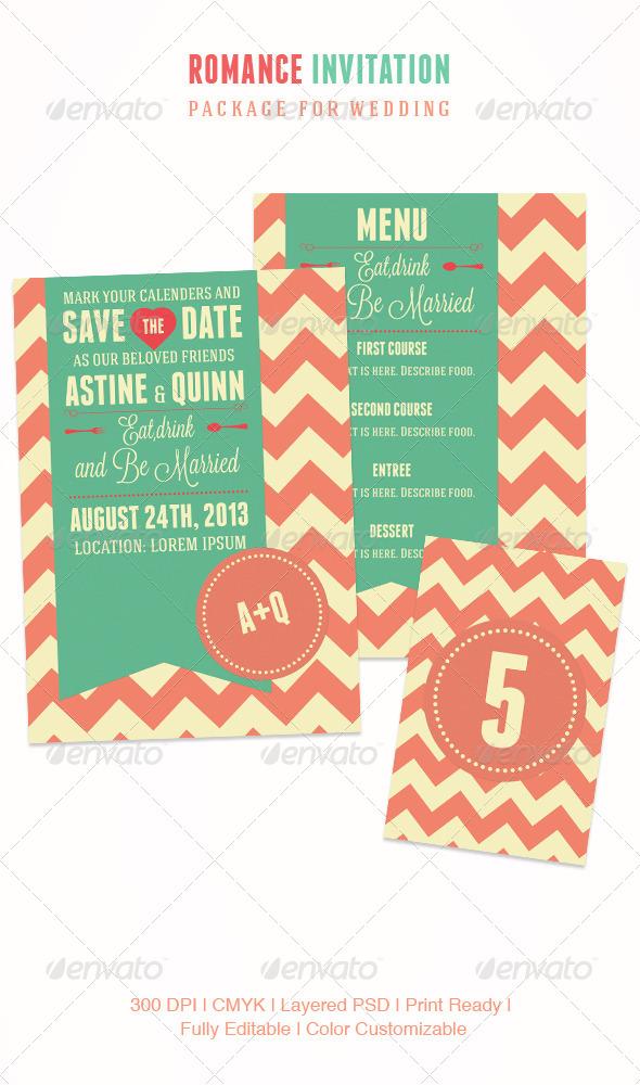 GraphicRiver Romance Invitation 4624297