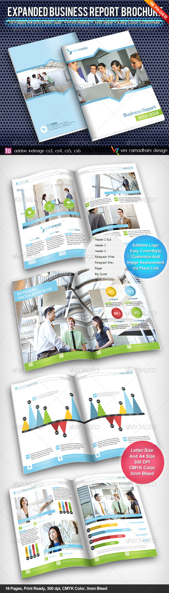 GraphicRiver Expanded Corporate Brochure 4537392