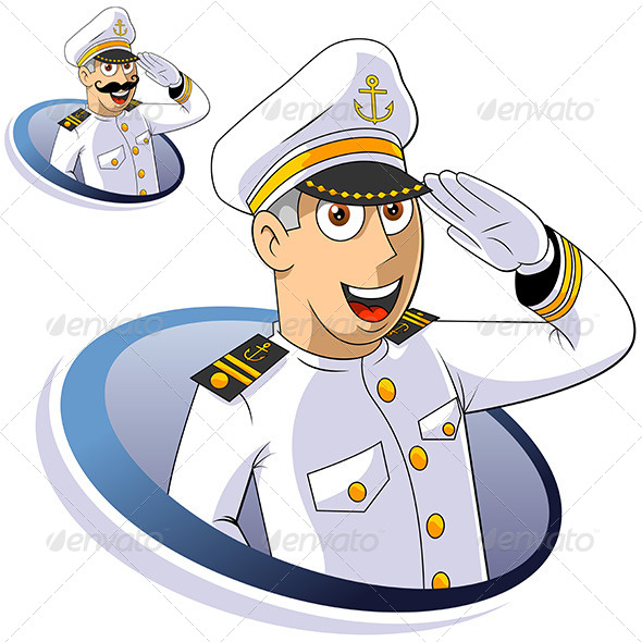 GraphicRiver Marine Captain 4624601