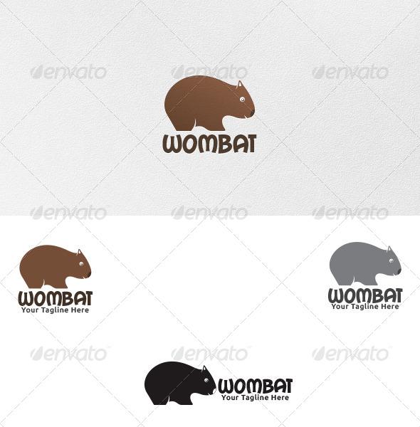 Wombat Logo Template