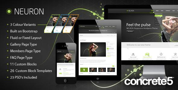 ThemeForest Neuron Responsive C5 Theme 4616997