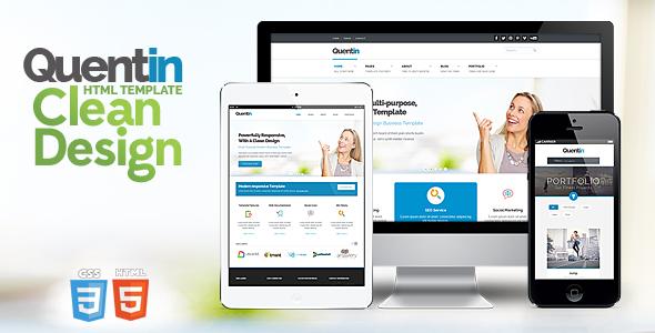 Quentin - Premium Multipurpose Responsive Template