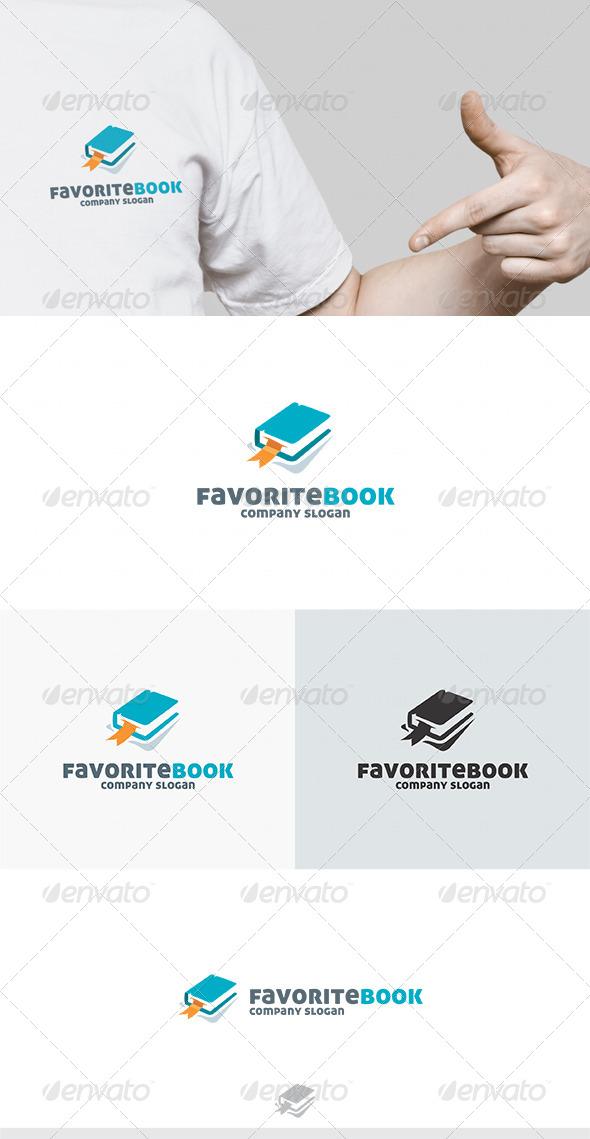 Favorite Book Logo - Symbols Logo Templates