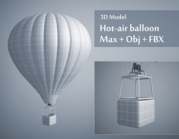 3DOcean Hot-air Balloon 4625525