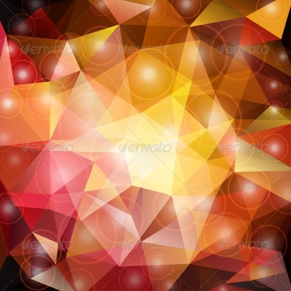 GraphicRiver Abstract Triangle Background 4625541
