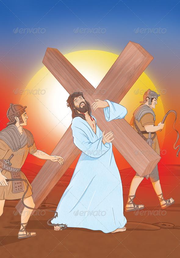 GraphicRiver Jesus Way 4625674