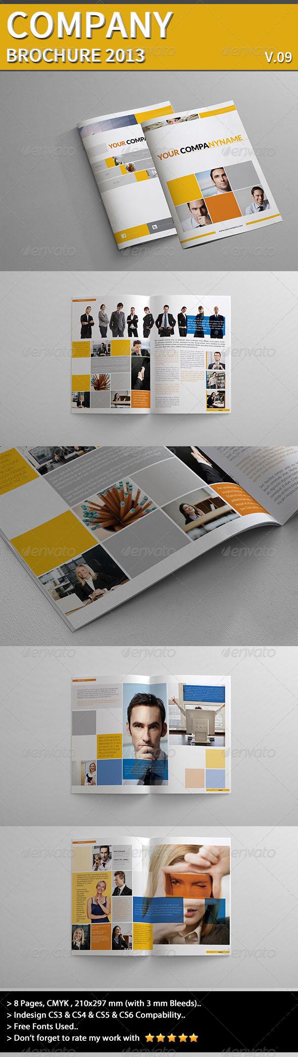 GraphicRiver Company Brochure Part 09 4626513